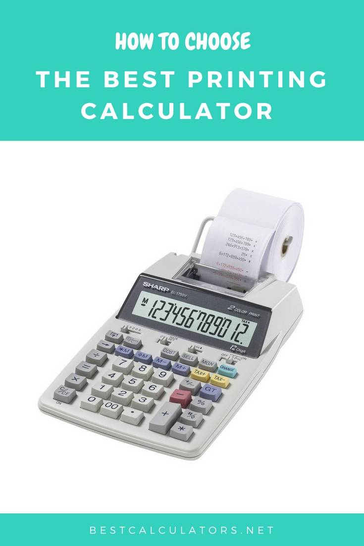 Best Printing Calculator 2018