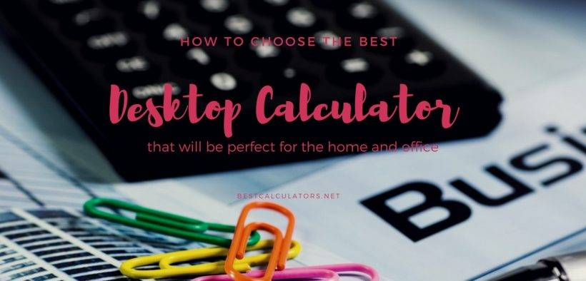 Best Desktop Calculator 2018