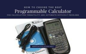 Best Programmable Calculator 2018