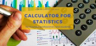 Best Calculator for Statistics 2018