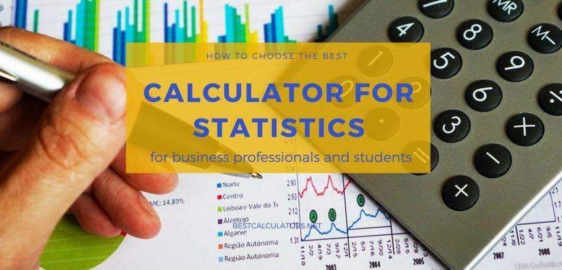 Best Calculator for Statistics 2018