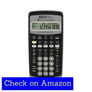 Texas Instruments BA II Plus - Best for Finance Students