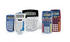 Texas Instruments Basic and Elementary Calculators