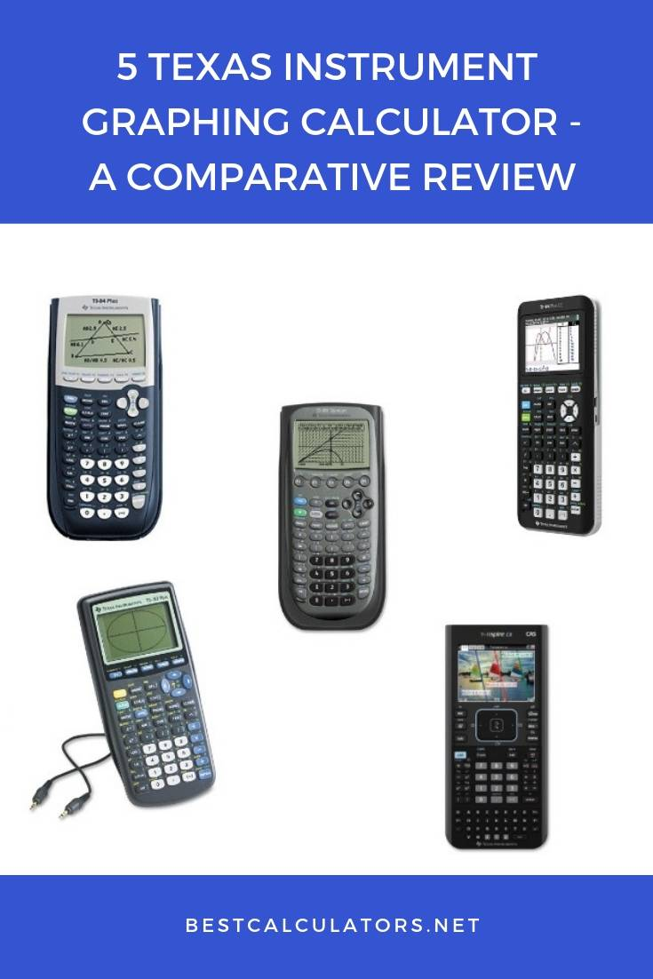 5 Texas Instrument Graphing Calculator - A Comparative Review