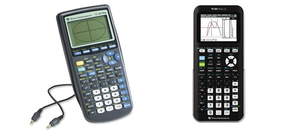 TI-83 Plus versus TI-84 Plus CE