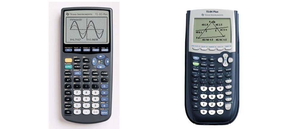 TI-83 Plus versus TI-84 Plus