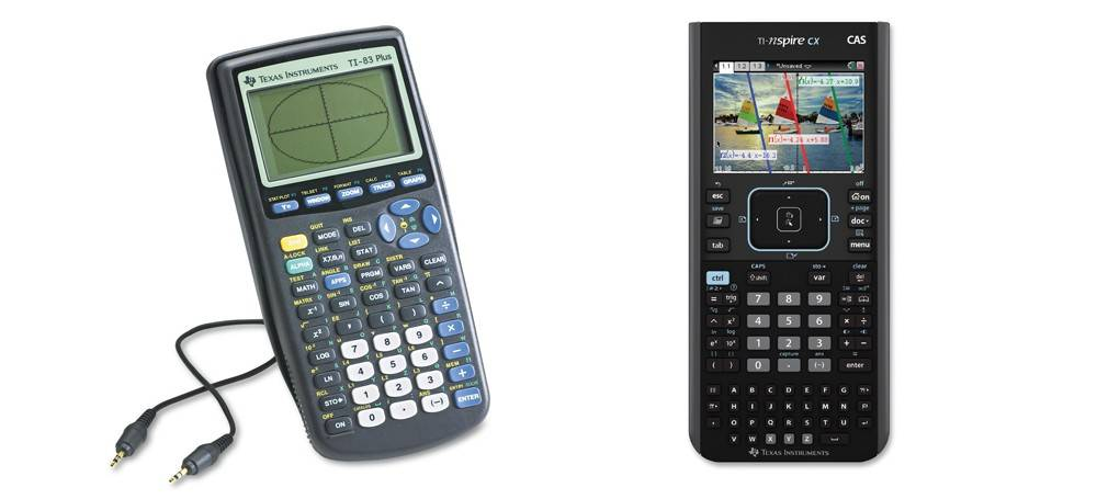 TI-83 Plus versus TI-Nspire CX CAS