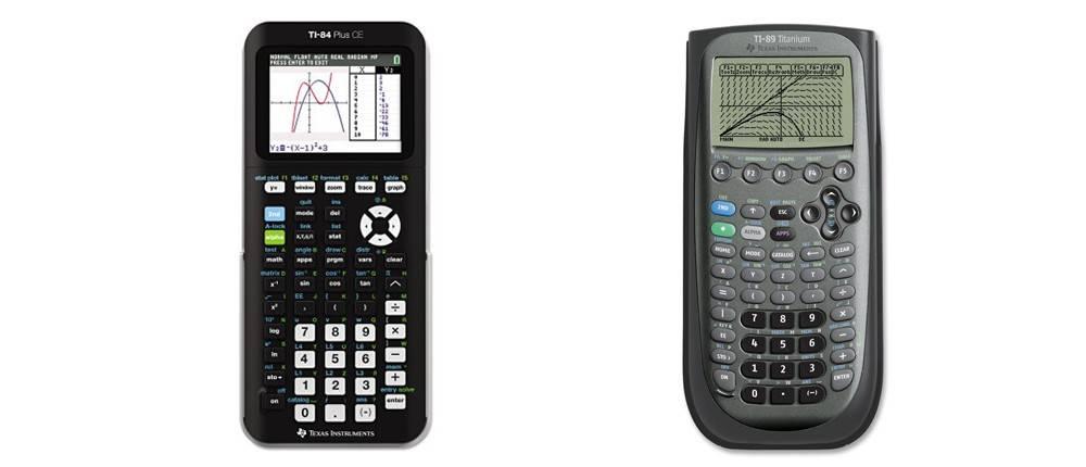 TI-84 Plus CE versus TI-89 Titanium