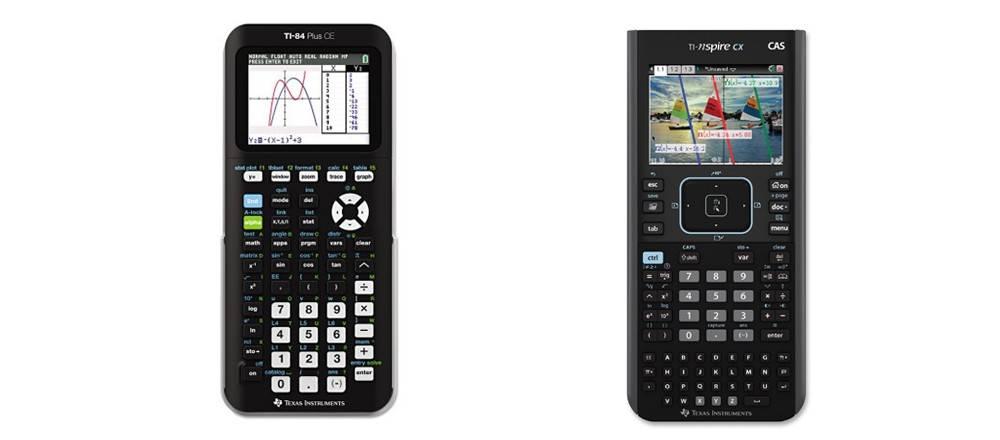 TI-84 Plus CE versus TI-Nspire CX CAS