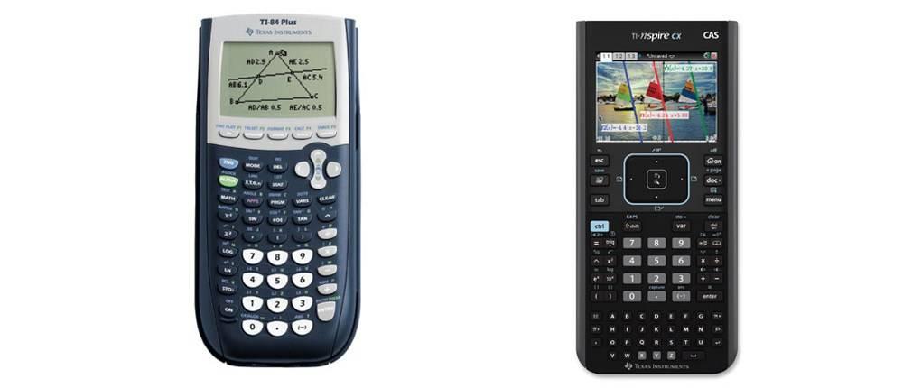 TI-84 Plus versus TI-Nspire CX CAS