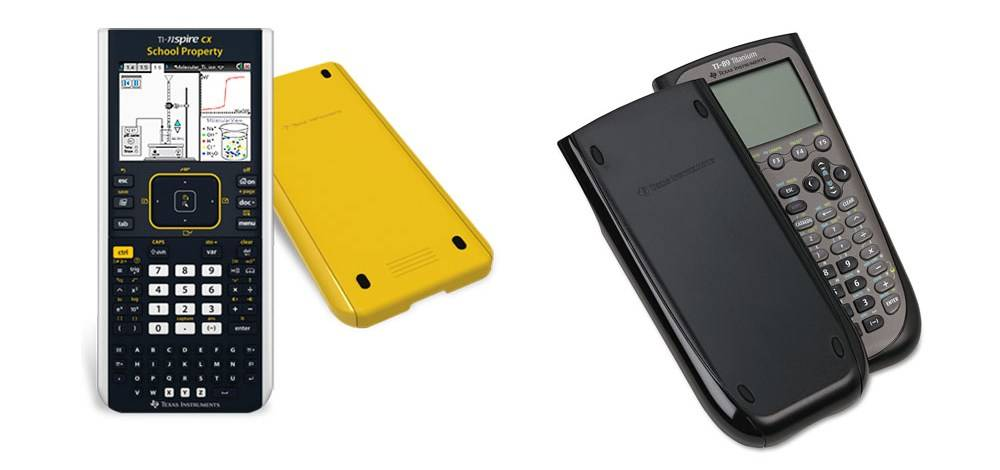 TI-Nspire and TI-89 come with great case covers