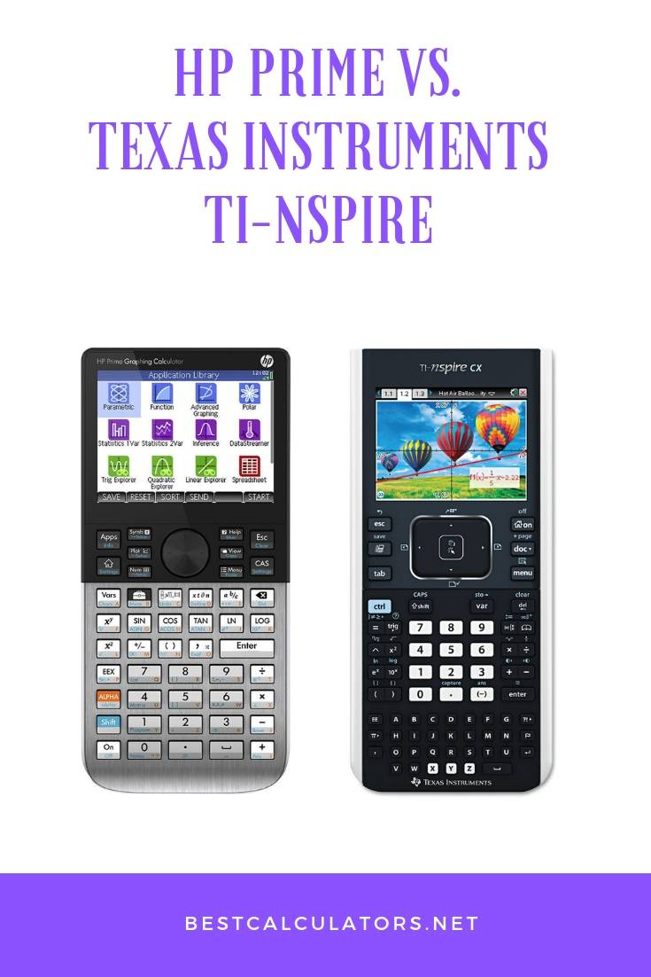 HP Prime vs TI Nspire
