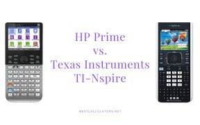 HP Prime vs TI Nspire